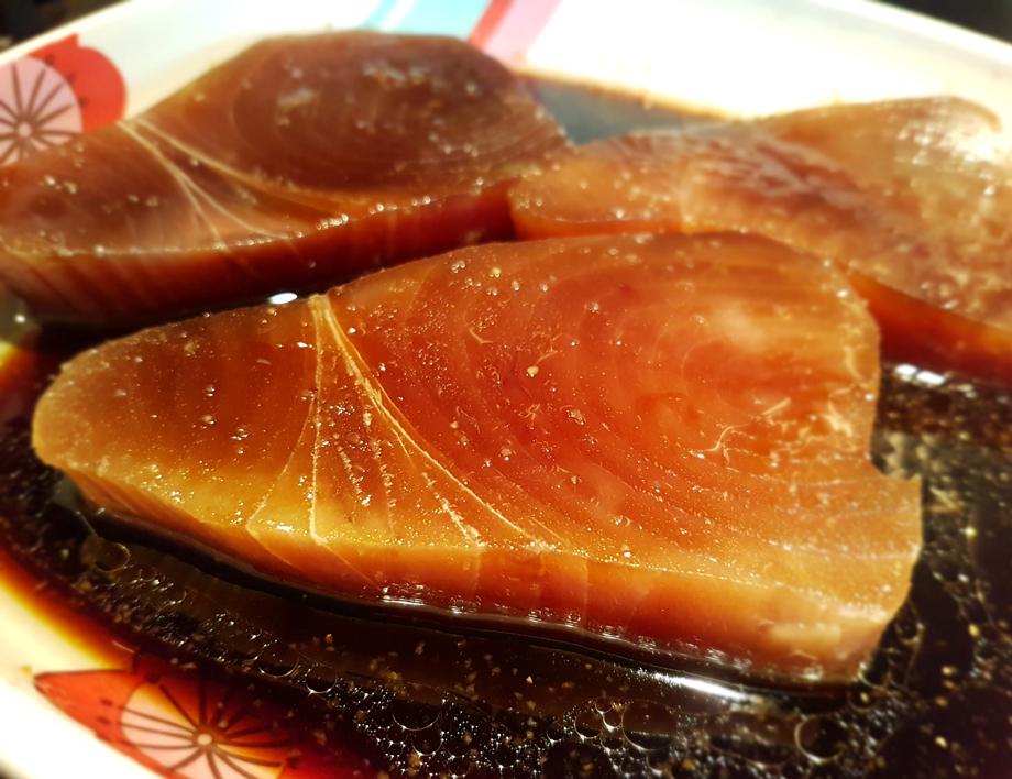 Tuna in marinade